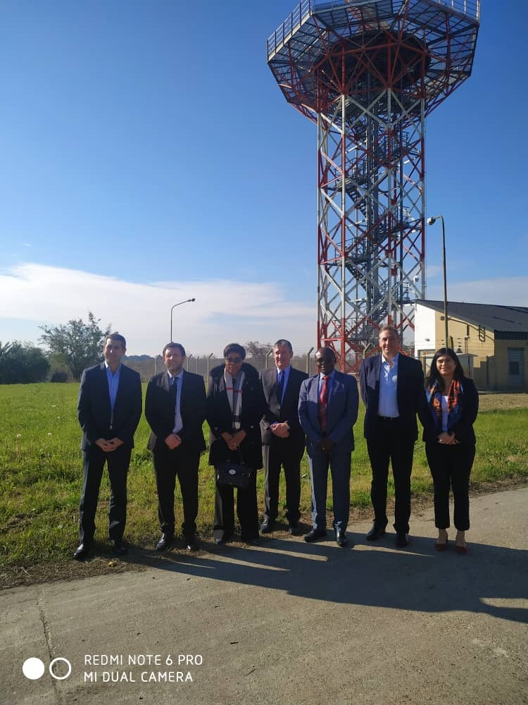 Visit of a radar station in Quilmes (a suburb located 45km from Buenos Aires) during an exploratory mission to Argentina from 26/07-03/08/2019.