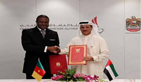Air Services Agreement between Cameroon and the United Arab Emirates on 10 March 2020 in Dubai.