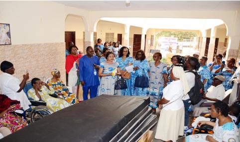 Visite de Charité dans le cadre de l'édition 2020 de la JIF à la CCAA de