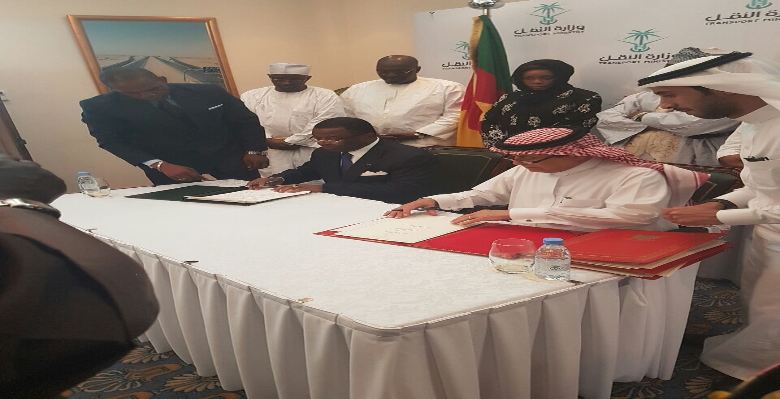 The Kingdom of Saoudi Arabia and Cameroon signed an aviation agreement